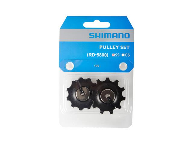 Shimano 105 Schaltrollensatz für 11-fach RD-5800-SS schwarz